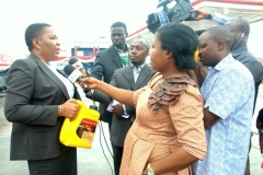 Commissioning of Techno Oil branded station at Mile 2, Lagos, Nigeria