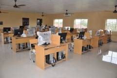 Commissioning of the fully equipped ICT Laboratory & blocks of classrooms donated to Isingwu Community High School, Umuahia, Abia State in 2014 by Techno Oil
