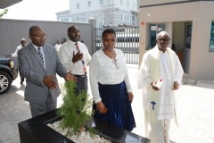 Dedication of Techno Oil new Corporate Head Office by Msgr(Prof) Francis Ogunmodede in Victoria Island, Lagos