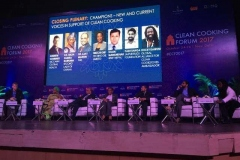 Discussants at Clean Cooking Forum 2017 held in New Delhi, India on 24-26 October, 2017