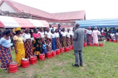 Donation of Techno Oil LPG cylinders to rural communities in partnership with UKAID