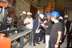 FG's team inspects Techno Oil LPG cylinder plant