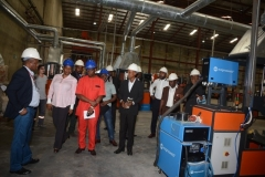 Inspection of Techno Oil LPG Cylinder Manufacturing Plant