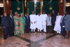 LCCI courtesy visit to the President on Friday 26 October 2018