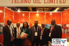 Techno Oil delegates at the 31st World LPG Forum held at Houston, USA