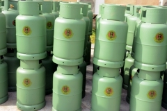 TECHNO OIL PRODUCED LPG CYLINDERS FOR NIGERIAN ARMY