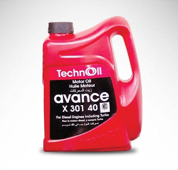 Techno Avance X301 40 (API CH-4/SJ)